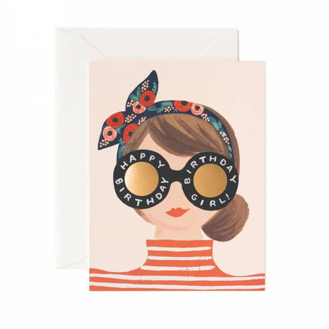 Greeting Card / Birthday Girl