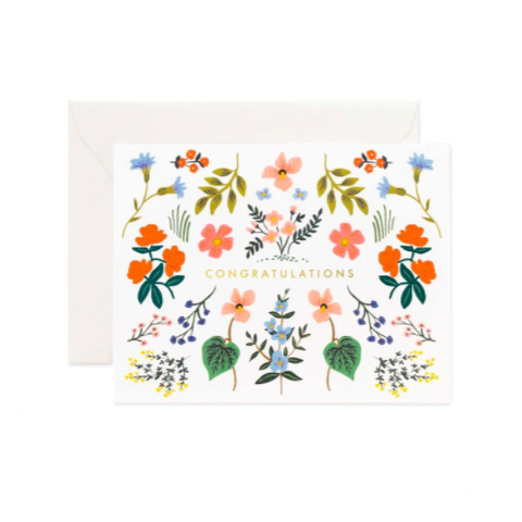 Greeting Card / Wildwood Congrats