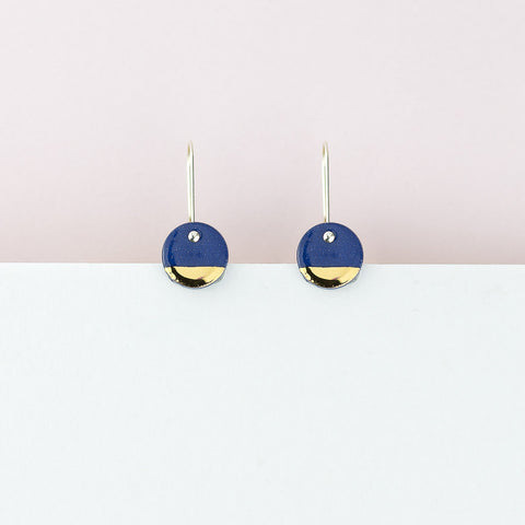 Spot Earrings / Blue