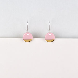 Spot Earrings / Pink