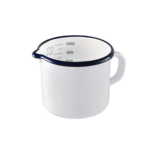 Enamel Measuring Jug / 1L