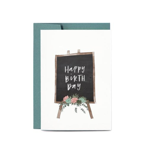 Greeting Card / Birthday Blackboard