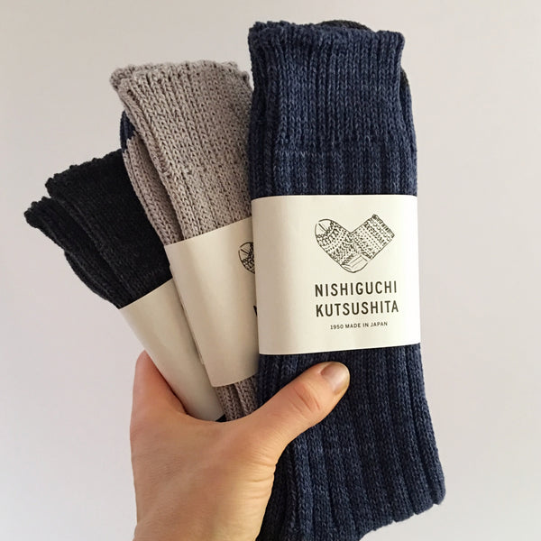 Boston Cotton Socks / Denim