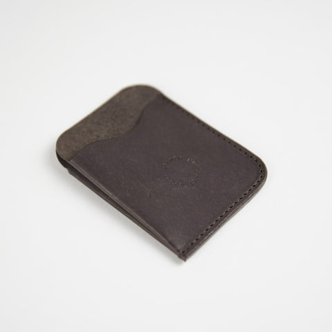 Duo Wallet / Dark Brown
