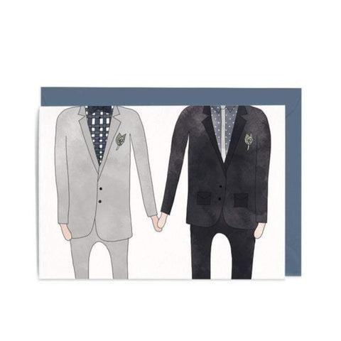 Greeting Card / Grooms