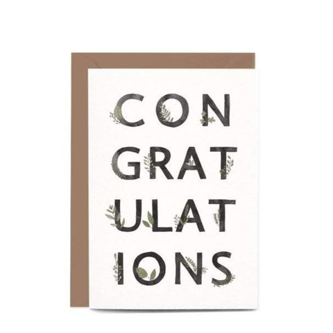 Greeting Card / Congratulations