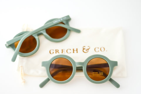 Sustainable Kids Sunglasses / Fern