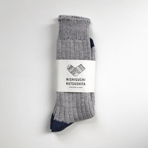 Boston Cotton Socks / Light Grey