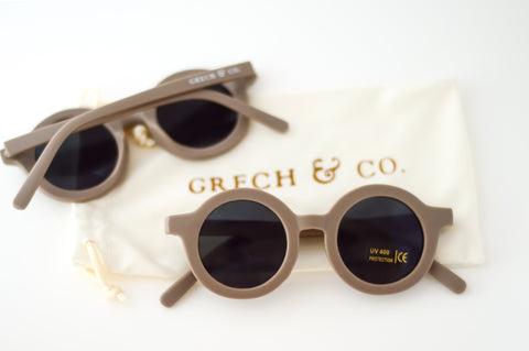 Sustainable Kids Sunglasses / Stone