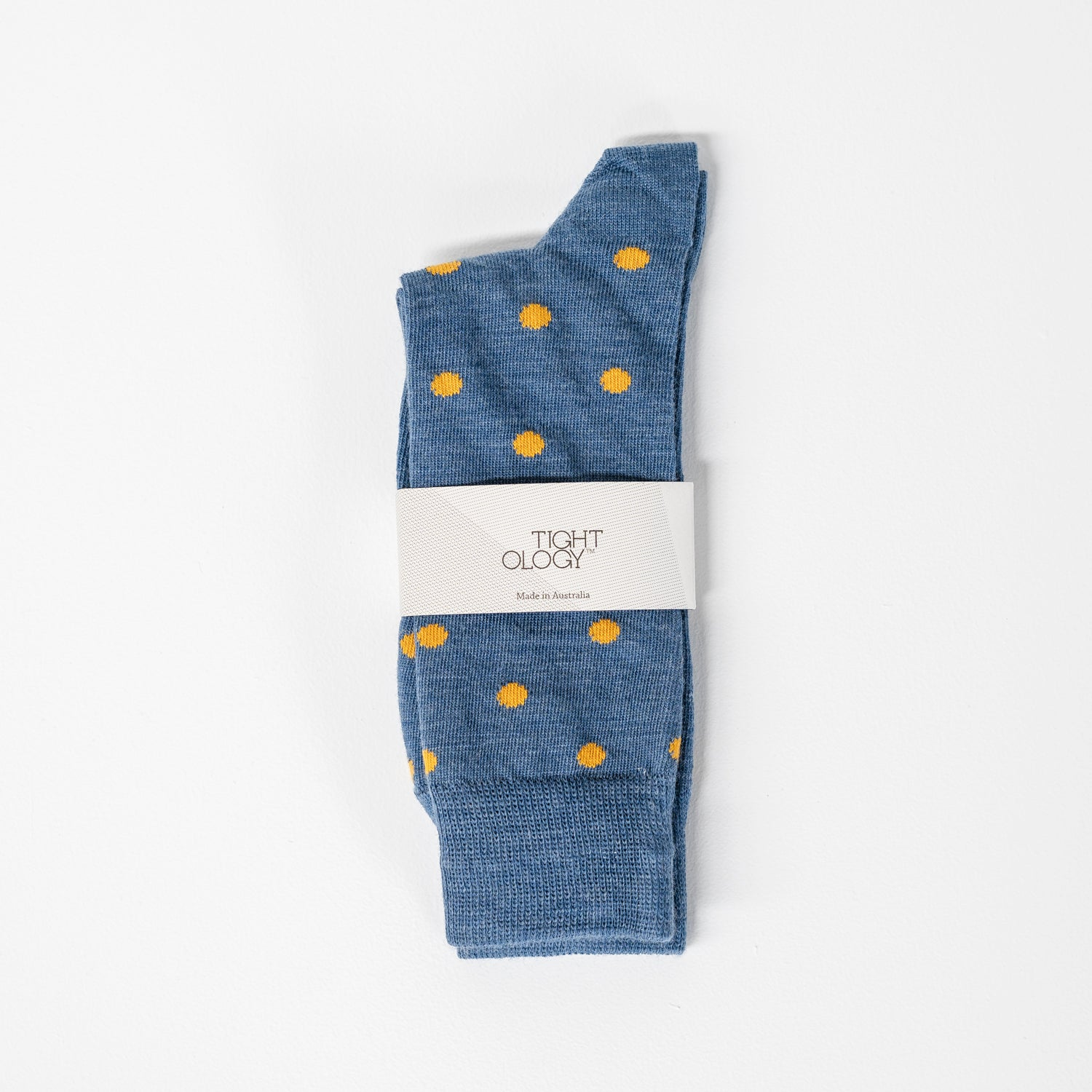Dotty Short Socks / Blue