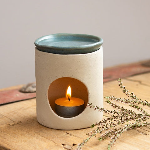 Handmade Oil Burner / Natural