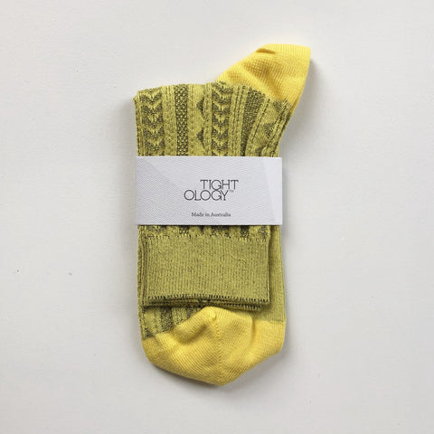 Tevere Socks / Yellow
