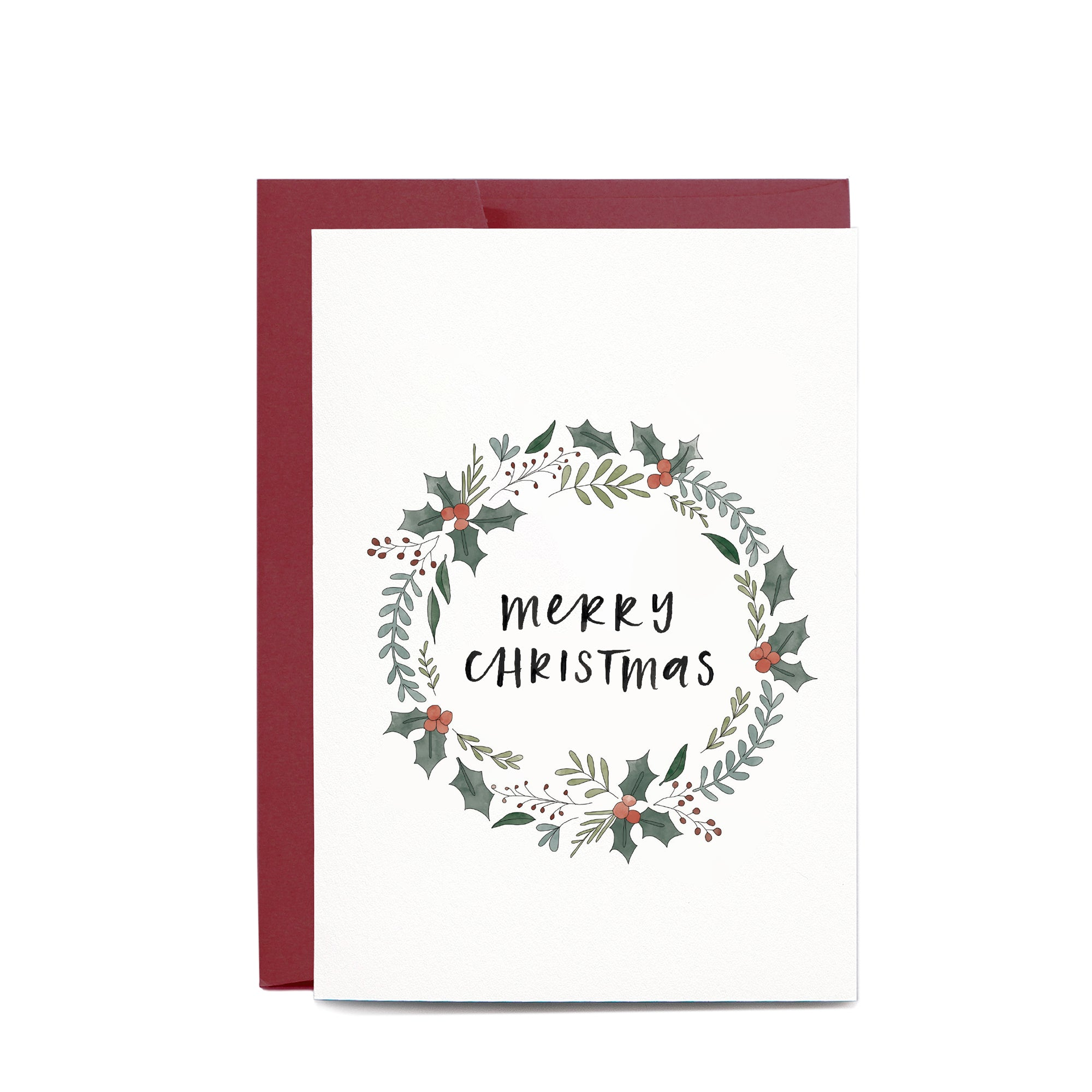 Christmas Card / Christmas Wreath