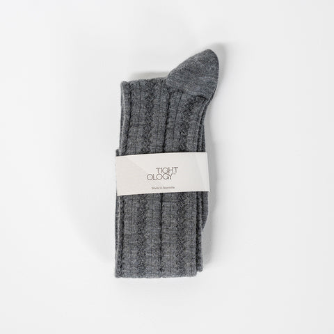 Monte Wool Socks / Grey