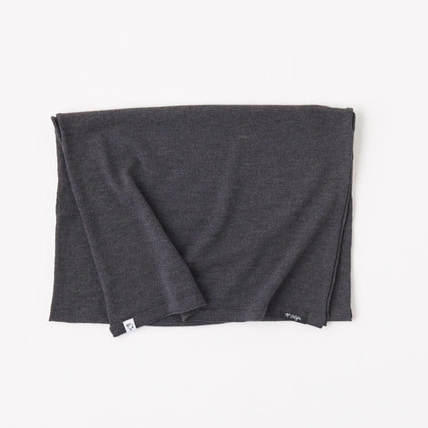 McKenzie Merino Travel Scarf / Charcoal
