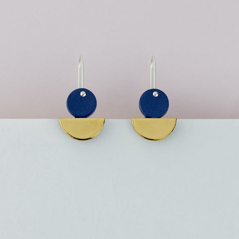 Float Earrings / Blue