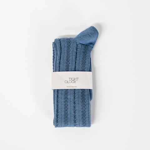 Monte Wool Socks / Blue
