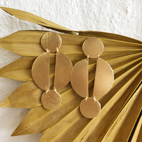 Jael Earrings / Gold