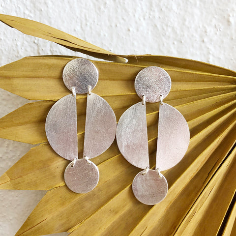 Jael Earrings / Silver