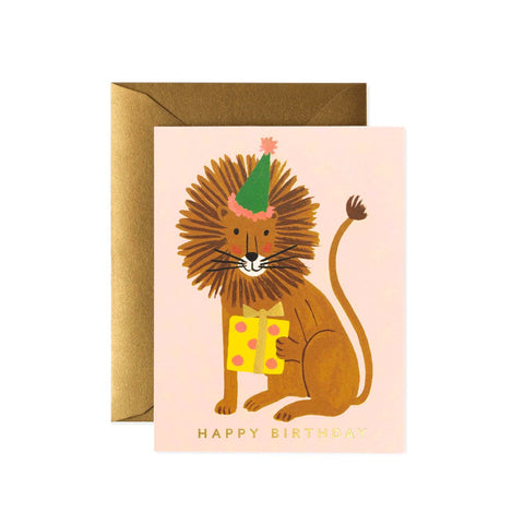 Greeting Card / Lion Birthday