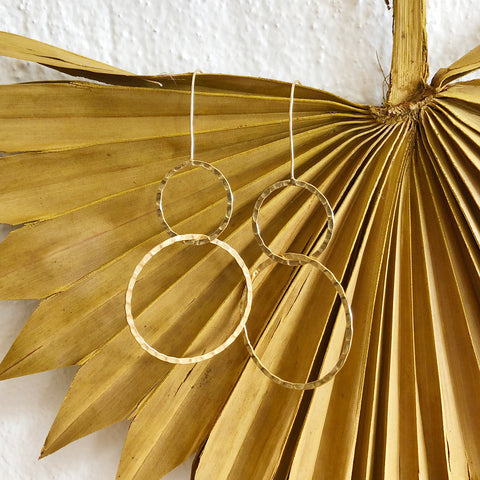 Lyron Earrings / Gold