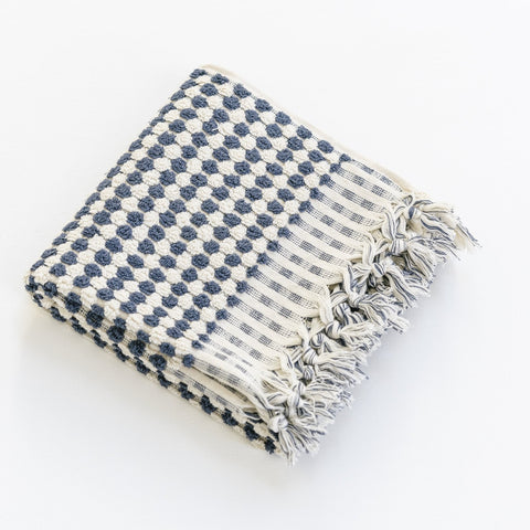 Turkish Hand Towel / Navy