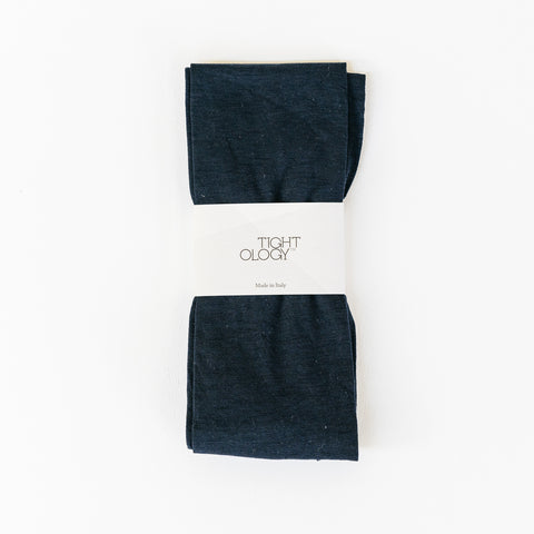 Luxe Wool Tights / Navy
