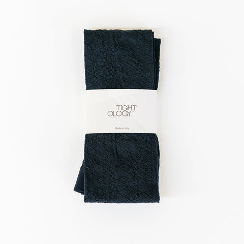 Montemartini Wool Tights / Navy