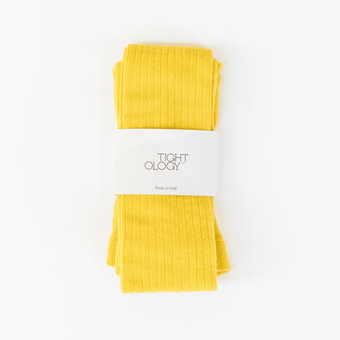 Staple Wool Tights / Lemon