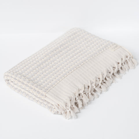 Turkish Bath Towel / Grey