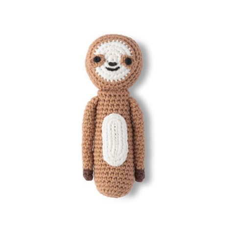 Crochet Baby Rattle / Sloth