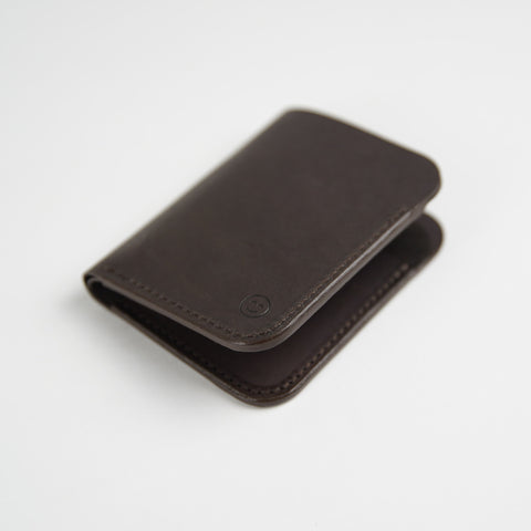 Upright Wallet / Dark Brown