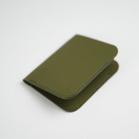 Upright Wallet / Olive