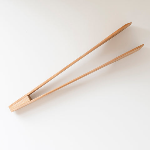 Wooden Salad Tongs