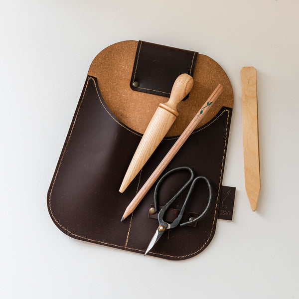 Leather Gardeners Pouch