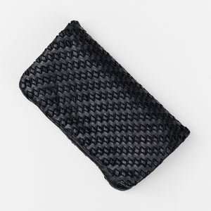 Galon Weave Wallet / Black