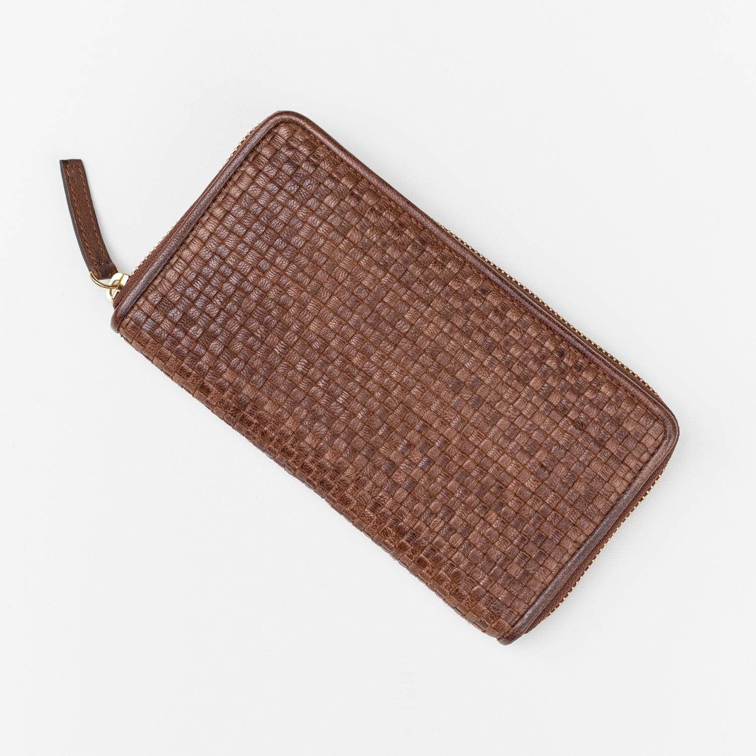 Thorne Zip Around Wallet / Tan