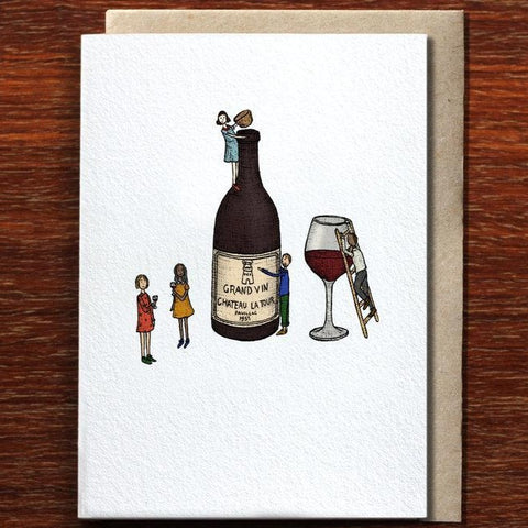 Greeting Card / Wine Time
