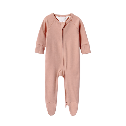Zip Growsuit / Tan