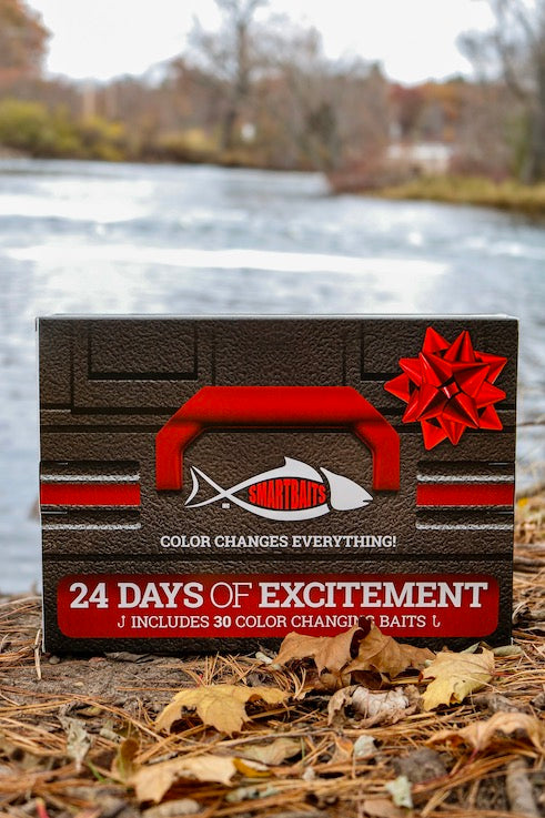 24 Days of Excitement! 24 Day Countdown Calendar