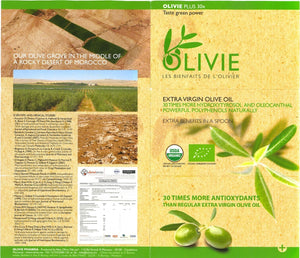 OLIVIE PLUS 30X - EXTRA VIRGIN OLIVE OIL