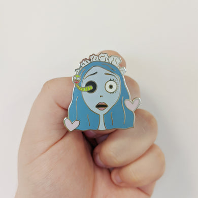 Dead Bride Enamel Pin