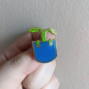 In A Pocket Enamel Pin