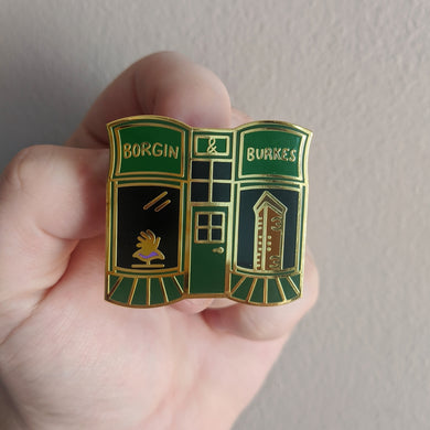 Dark Shop Enamel Pin