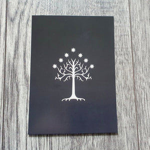 White Tree Postcard