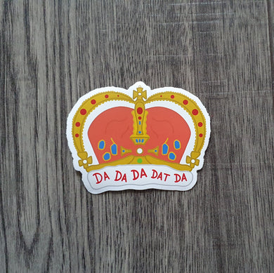 King George Sticker
