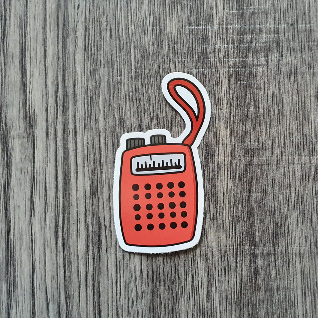 Witches Radio Sticker