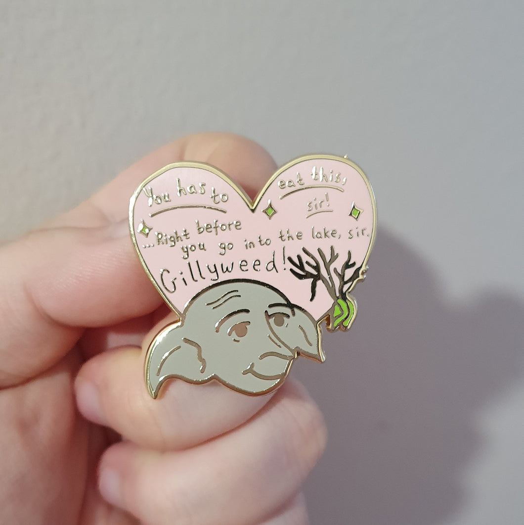 Helpful House Elf Enamel Pin