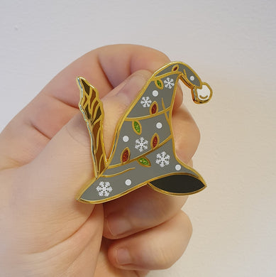 Great Wizards Xmas Hat Enamel Pin
