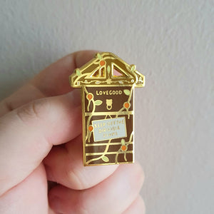 Family Door Enamel Pin